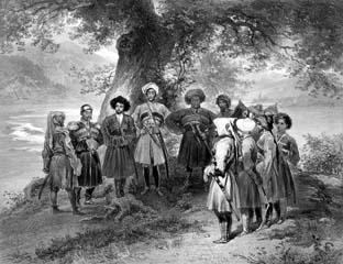 Собрание черкесских князей