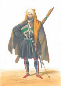 Черкес - рисунок Гагарина Г. Г.