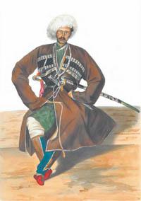 Казбек - рисунок Гагарина Г. Г.