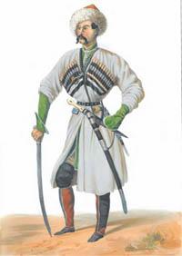Казбулат - рисунок Гагарина Г. Г.